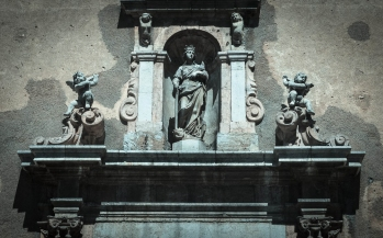 STATUES. SICILY, ITALY.