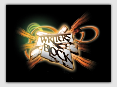 LOGO DESIGN. WRITERS BLOCK MUSIC GROUP. CAPE TOWN, SOUTH AFRICA.