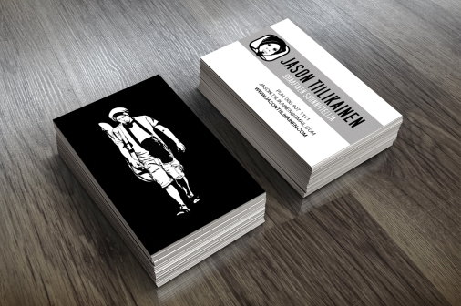 BUSINESS CARD DESIGN. JASONTIILIKAINEN.COM