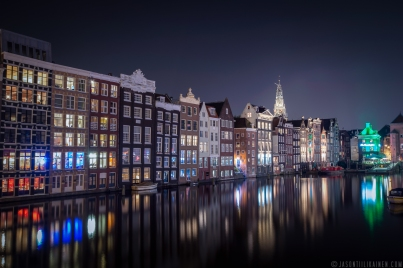 ''AMSTERDAM BY NIGHT''. Amsterdam, Netherlands.
