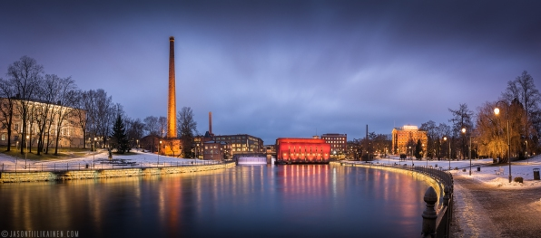 ''CLOUDY TAMPERE''. Tampere, Finland.