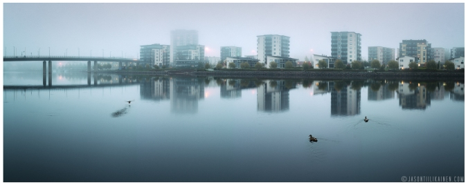 ''EARLY MORNING FOG''. Joensuu, Finland.