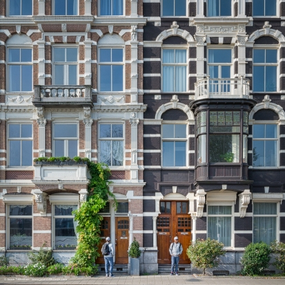 ''SEEING DOUBLE''. AMSTERDAM, NETHERLANDS.