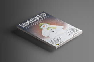 FLYER DESIGN. LUMIUKKO EVENT. JOENSUU, FINLAND.