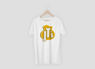 T-SHIRT DESIGN. JT'S MUSICAL INSTRUMENTS. CAPE TOWN, SOUTH AFRICA.