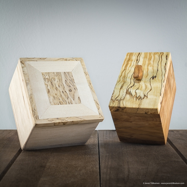 WOODEN BOXES.