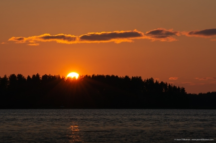 SUNSET, JOENSUU.