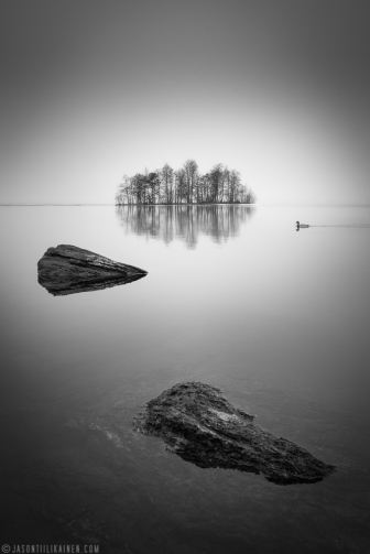 ''MISTY LAKE''. Joensuu, Finland.