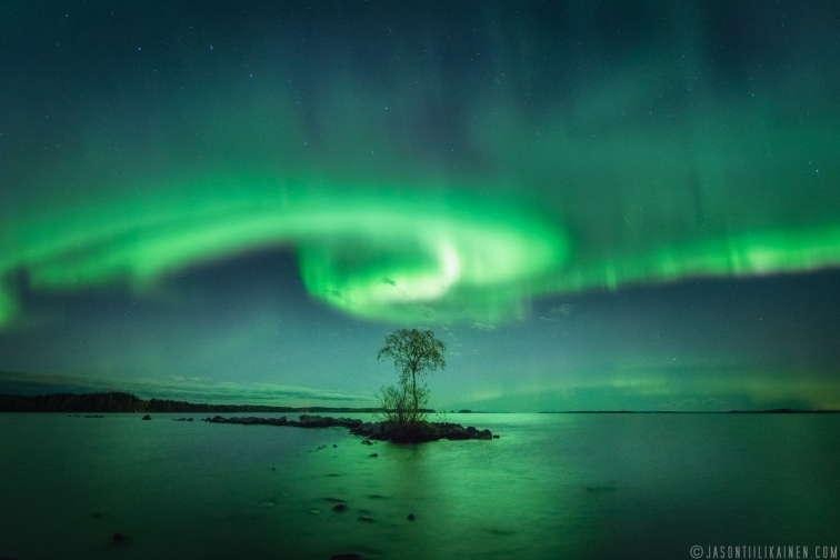 ''LIGHTS OF THE NIGHT''. Kontiolahti, Finland.