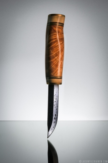 ''KNIFE''. Product photography. Made by Johan Tiilikainen.