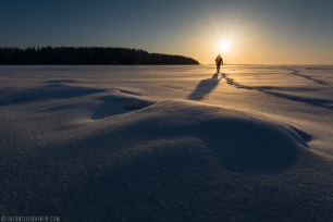 ''MORNING STROLL''. Joensuu, Finland.