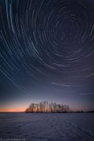 ''STAR TRAILS''. Joensuu, Finland.