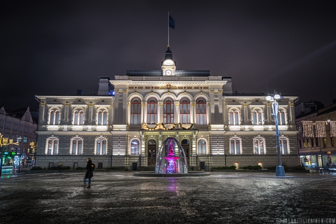 ''TAMPERE TOWN HALL''. Tampere, Finland.