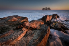 ''ROCKS AND SNOW''. Joensuu, Finland.