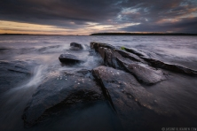 ''STORMY SHORE''. Finland.