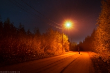 ''ROAD HOME''. Joensuu, Finland.