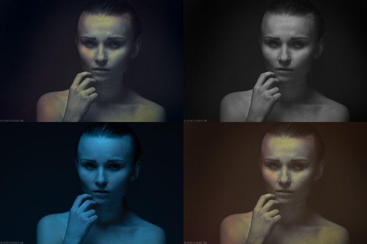 Experimenting with different styles. Model: Rosa Summanen.