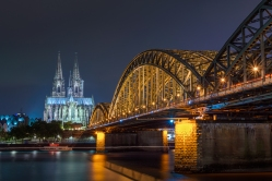 ''COLOGNE BY NIGHT''. Cologne, Germany.