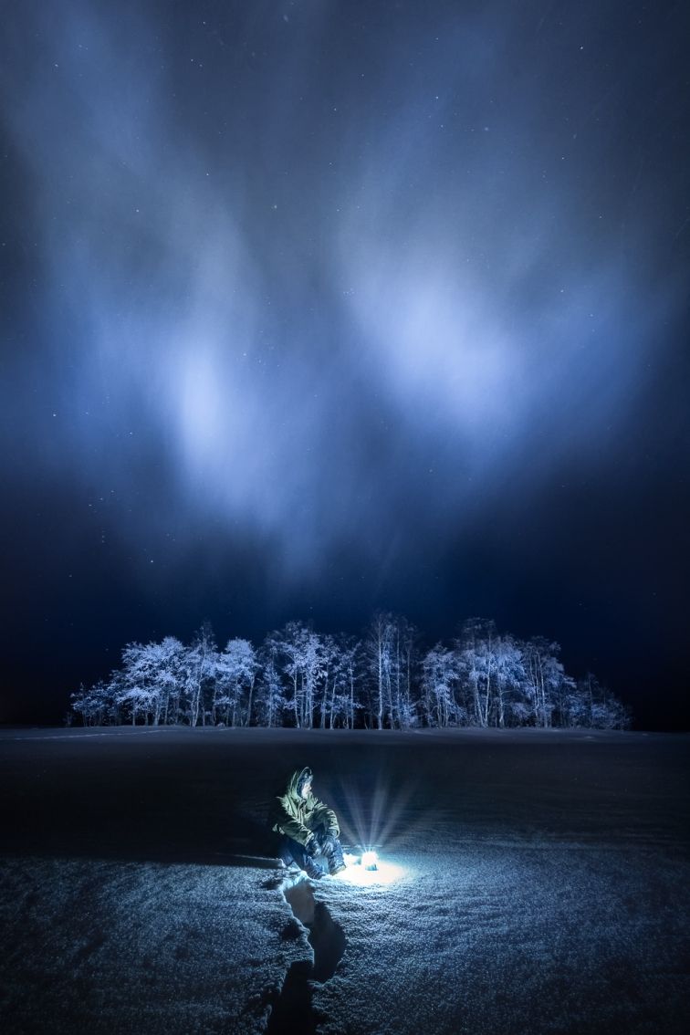 ''FROSTY NIGHT''. Joensuu, Finland.