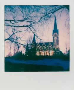 ''JOENSUU CHURCH POLAROID''. Joensuu, Finland.