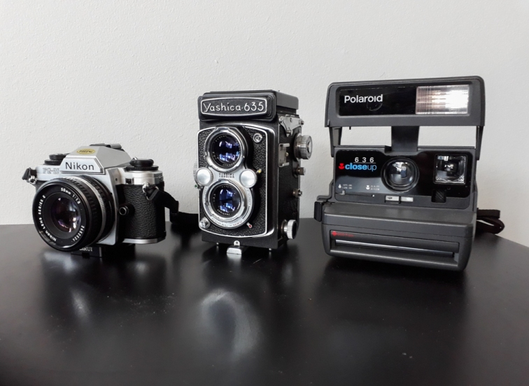 A few of my current cameras.